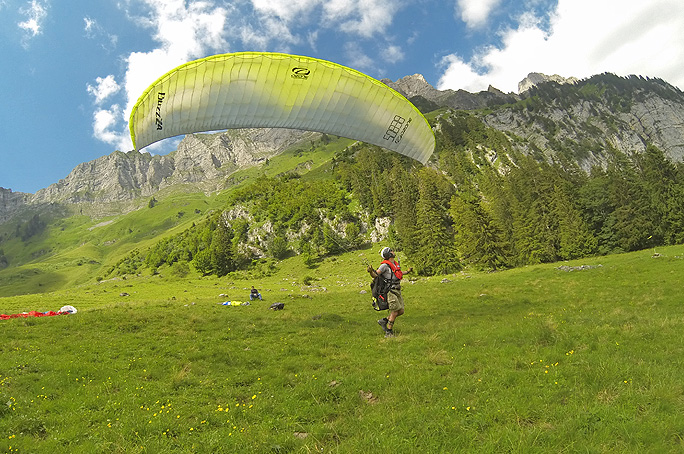 X-dream Fly Start- und Landetraining