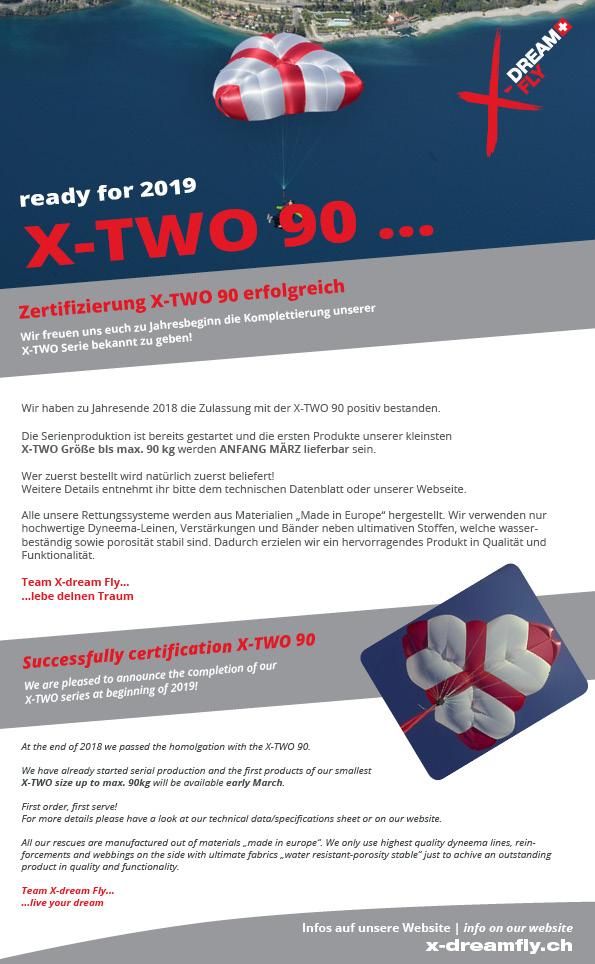 X two große größen